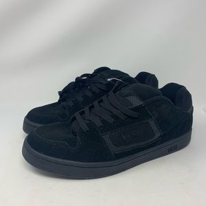 Vans Shoes - VANS DOCKET BLACK/CHARCOAL SKATE SHOES MENS 11.5